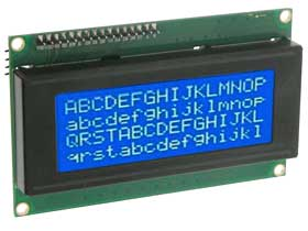 20 x 4 Serial LCD Display for Arduino