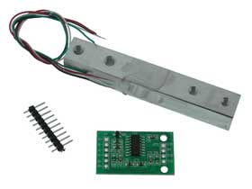 5kg Load Cell with ADC Converter Board for Microcontrollers