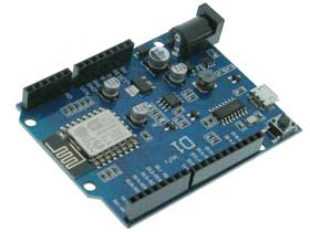 Arduino UNO Clone with WiFi