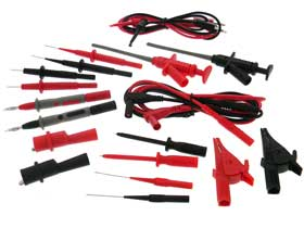 20pc. Deluxe Universal Test Lead Kit,