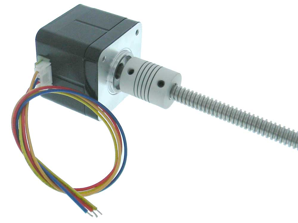 Step Motor with 300mm T8 Leadscrew for 3D Printer