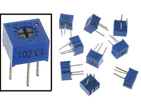 Experimenters Variable Resistors 10pc. Pack