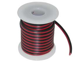 2 Conductor OFC Copper Red/Black 18AWG ZIP Wire 25ft.