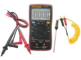 Palm Size Digital Multimeter 4 Digit 9999 Count