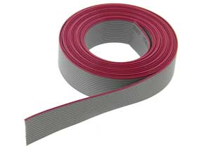 14 Conductor 10' (3 meter) Flat Ribbon Cable