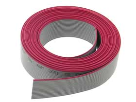 16 Conductor 10' (3 meter) Flat Ribbon Cable