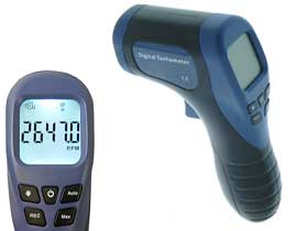 Pistol Grip LASER Photo Tachometer