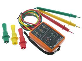 AC Rotation 3 Phase Tester