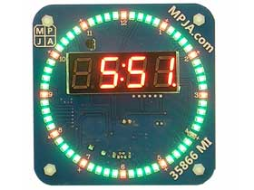 Creative 12 Hour AM / PM Digital LED Clock