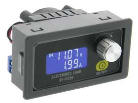 DC Constant Current Electronic Load  Battery Tester