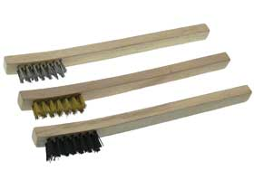 3pc Mini Wire Brush Set