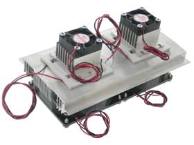 DUAL Peltier Cooling Assembly, 12VDC