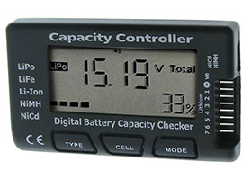Battery Tester for Toys and Model Cell Packs