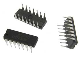 Pack of 3 - LM723CN DIP Adjustable Voltage Regulator 2-37V