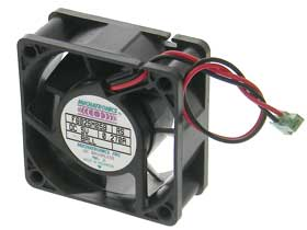 5VDC 2-3/8in Sq. (60mm) X 1in Box Fan - Mechatronics