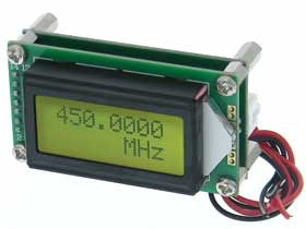 LCD Frequency Meter 7 Digit. 1MHz-1.2Ghz