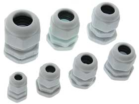 Pack of 7 - Water Resistant Cable Sealing Gland