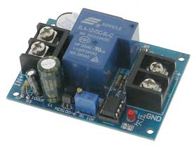 Battery Low Voltage Disconnect Module - 12V - 30A
