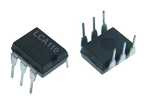 Pack of 2 - LCA110 Solid State Relay, 350VDC, 120mA, SPST-NO