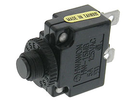 5 Amp Mini Thermal Circuit Breaker