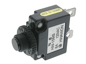 6 Amp Mini Thermal Circuit Breaker