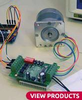 Stepper Motors and Drivers